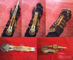 Jacob Frye Gauntlet / Assassin's Creed Syndicate by KADArt-Cosplay