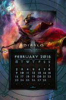 Calendar Mobile #4: February 2015 - EU Style by Holyknight3000