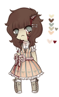 ZOMBIE LOLLI AUCTION-CLOSED- by Kiwi-adopts