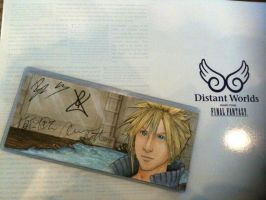 Signed Cloud Smiles card by AokiBengal
