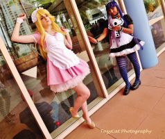 Panty and Stocking: Maid Service by TazyCat2405