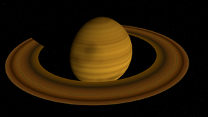 Ringed Planet by Adreos