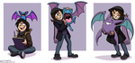 Pokemon: Zubat Line by forte-girl7