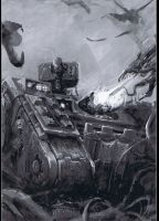 Land Raider by ImashimeTheDaemon