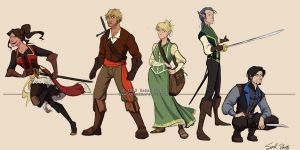 The five players by Rynnay