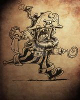 steam powered pirate! by jimspon
