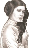 Princess Leia Organa by Slayerlane