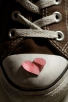 My View Of An Old Sole by esthermyla