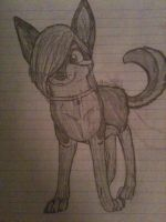 Nevaeh in Pencil by AshbreezeTheKitty