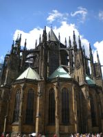 St Vitus Cathedral by LadyClona