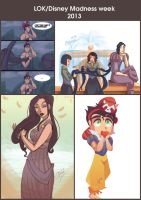 LOK/DISNEY MADNESS 2013 by Ceshira
