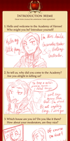 AoHC - Introduction Meme! by IiTen