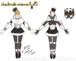 [Scrap] LoL Checkmate Orianna Skin by auurium