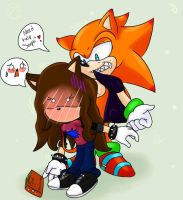 Notice Me Senpai xD by SonicForTheWin2