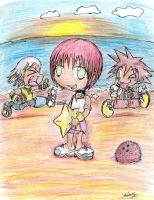 Kairi .:kingdomhearts:. by pink-hedgehog