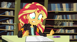 Sunset's Secret is Exposed! by EpicCartoonsFan