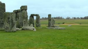 Barrows at the Henge by wanderingmage
