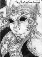Venetian Mask by LyrykenLied