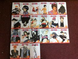 bleach manga covers by mileylovestina