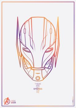 Avengers - Age Of Ultron Vector by funky23