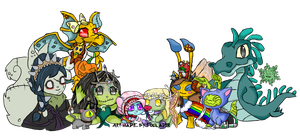 Neopets Banner by Tollador
