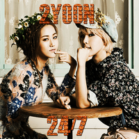 CD COVER.~ 2YOON_24/7 by Solita-San