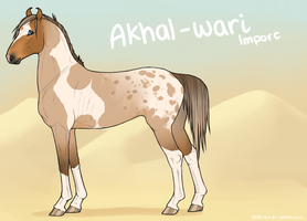 Akhal-Wari Import 81 by soulswitch