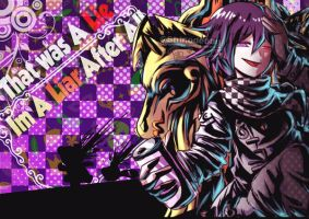 Persona 5 x NDRV3 Ouma Finishing Touch by shirodebby