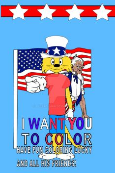Uncle Sam and Lucky Cat by tvcrazyman