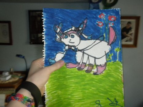 Sylveon Drawing by Flynnster-4590