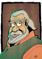 The Old Man by Jean--Franco