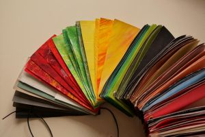 Selfmade Colour fan by Sabbelbina