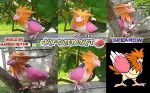 pokemon spearow papercraft by javierini