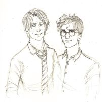 Harry And Ron by Catching-Smoke
