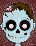 Timmy Zombie-WIP by spookyspinster