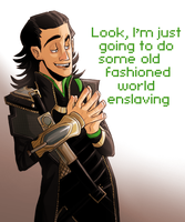 LOKI'D by CrescentMarionette
