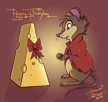 A Gift for Mrs. Brisby by ladyriven
