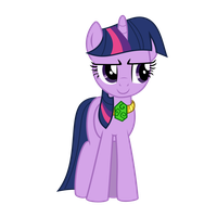 Twilight Sparkle With Necklace by contreras19