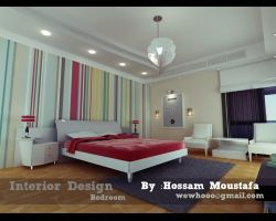 interior Bedroom by HossamMoustafa
