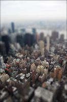 Fake Tilt Shift - New York by echomrg