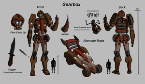 Gearbox Character Sheet Color by Laserbot