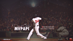 Big MVPapi by TheHawkeyeStudio