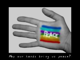 One Hand For Peace by cyric80