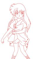 .Kagome. Lineart by AbbeyLBM