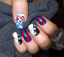 Glee Nail Art by Animalluver1985