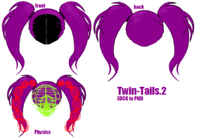 MMD -Two Tail -DOWNLOAD by MMDFakewings18