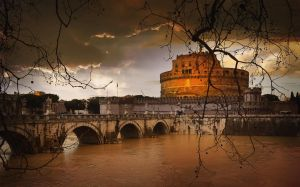 Castel San Angelo - Roma by Marcusion