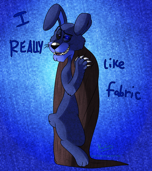FNaF 4 - Nightmare Bonnie / Fabracio by Koili