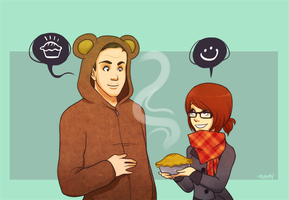 Pie For Jason by tabby-like-a-cat