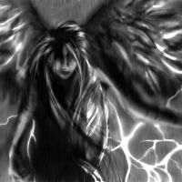 Fantasy - Storm Angel by Chaos-Flower